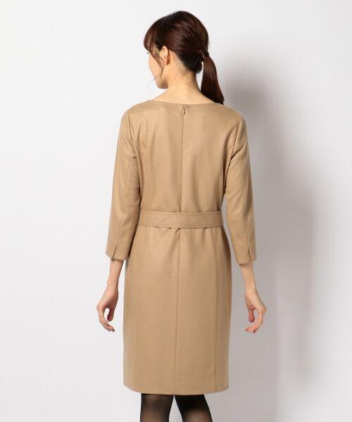 J.PRESS / ジェイプレス ドレス | 1/60ウール圧縮スムース ワンピース | 詳細10