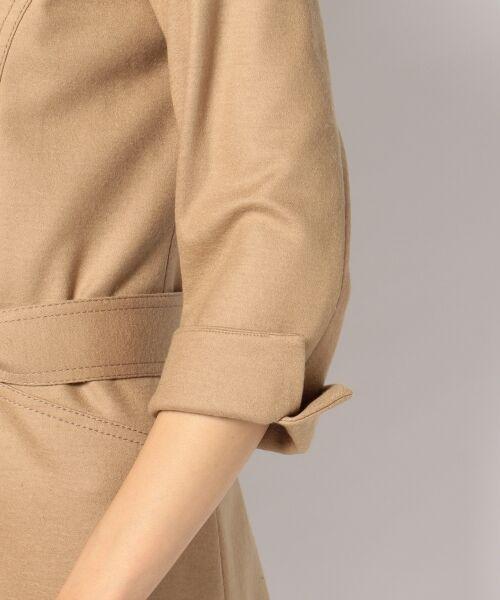 J.PRESS / ジェイプレス ドレス | 1/60ウール圧縮スムース ワンピース | 詳細14