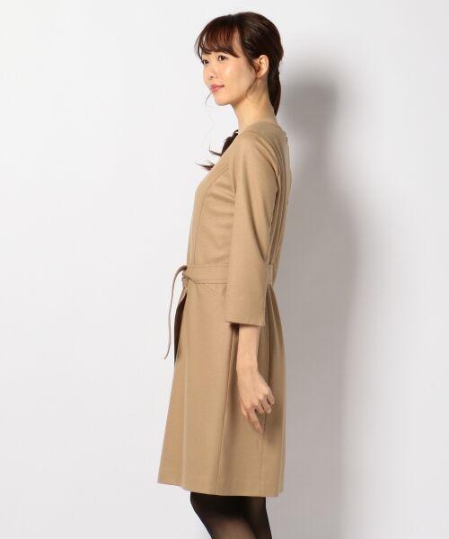 J.PRESS / ジェイプレス ドレス | 1/60ウール圧縮スムース ワンピース | 詳細7