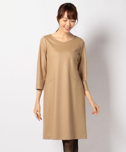 J.PRESS / ジェイプレス ドレス | 1/60ウール圧縮スムース ワンピース | 詳細8