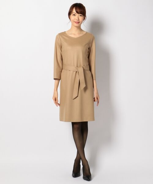 J.PRESS / ジェイプレス ドレス | 1/60ウール圧縮スムース ワンピース | 詳細9
