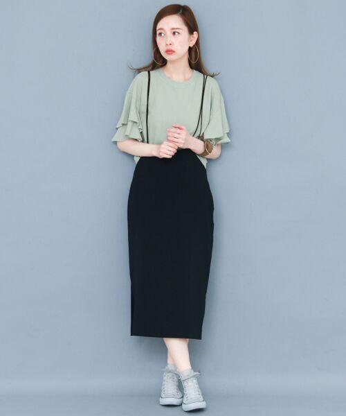 KBF / ケービーエフ Tシャツ   ティアードスリーブTシャツ   詳細7