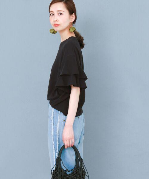 KBF / ケービーエフ Tシャツ   ティアードスリーブTシャツ   詳細9