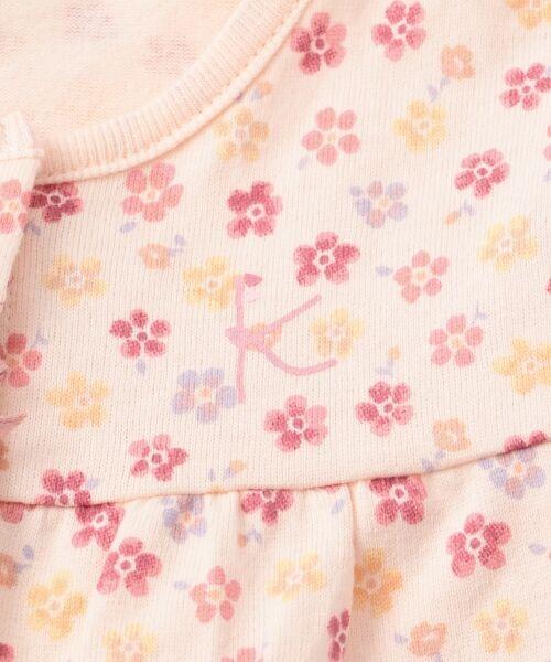 組曲 KIDS / クミキョク キッズ ロンパース | 【BABY】フラワーPT ロンパース | 詳細7