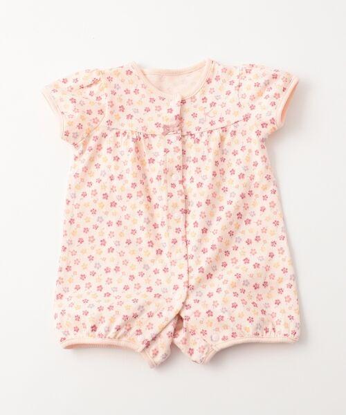組曲 KIDS / クミキョク キッズ ロンパース | 【BABY】フラワーPT ロンパース(ピンク系5)