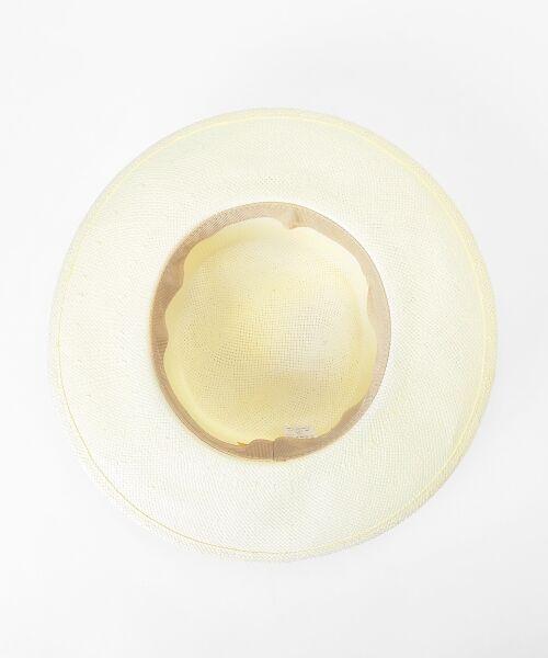 le.coeur blanc / ルクールブラン ハット | ペーパーカンカン帽 | 詳細3
