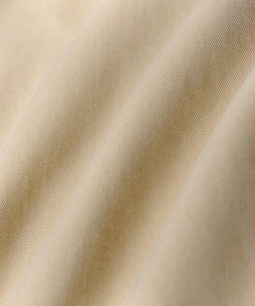 le.coeur blanc / ルクールブラン トレンチコート   リヨセルタッチトレンチコート   詳細8