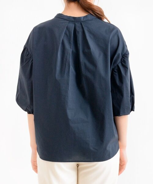 le.coeur blanc / ルクールブラン シャツ・ブラウス   ボリュームスリーブスキッパーシャツ   詳細3
