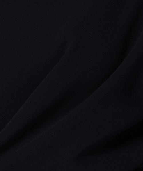 L size ONWARD(大きいサイズ) / エルサイズオンワード シャツ・ブラウス | 【洗える!】トリアセダブルコンパクト ブラウス | 詳細6