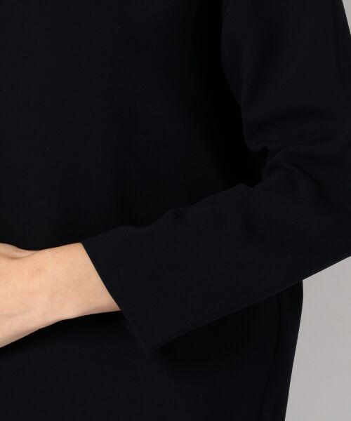 L size ONWARD(大きいサイズ) / エルサイズオンワード シャツ・ブラウス | 【洗える!】トリアセダブルコンパクト ブラウス | 詳細4