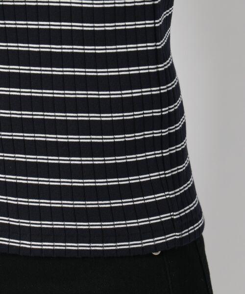 L size ONWARD(大きいサイズ) / エルサイズオンワード Tシャツ | 【洗える】コットンワイドリブ カットソー | 詳細15