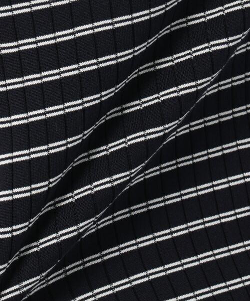 L size ONWARD(大きいサイズ) / エルサイズオンワード Tシャツ | 【洗える】コットンワイドリブ カットソー | 詳細16