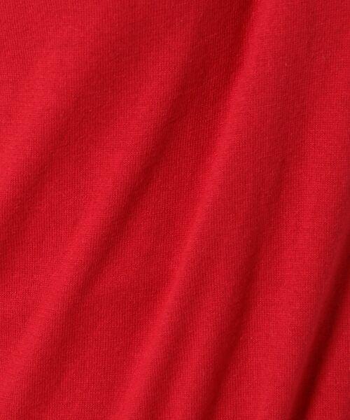 L size ONWARD(大きいサイズ) / エルサイズオンワード ニット・セーター | 【洗える】ソフトコットンカシミヤ アシメントリー ニット | 詳細29
