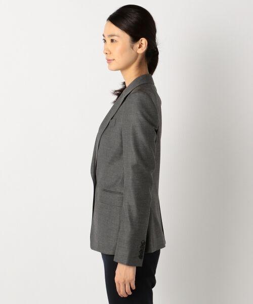 L size ONWARD(大きいサイズ) / エルサイズオンワード テーラードジャケット | 【40・48サイズ有り / セットアップ】Ease ジャケット | 詳細1