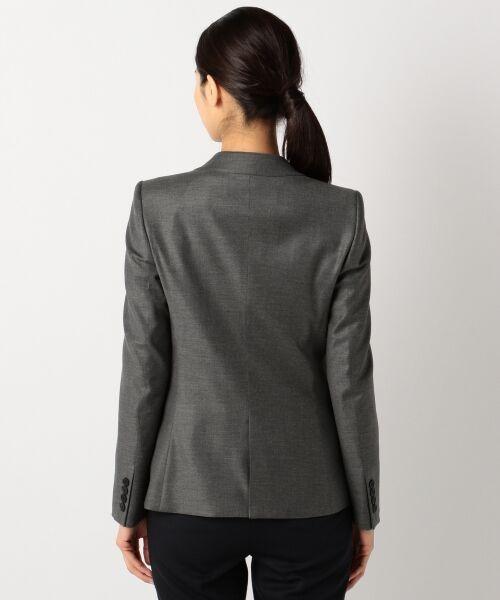 L size ONWARD(大きいサイズ) / エルサイズオンワード テーラードジャケット | 【40・48サイズ有り / セットアップ】Ease ジャケット | 詳細10