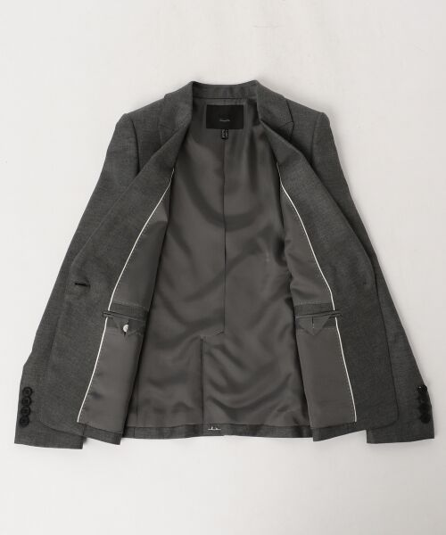 L size ONWARD(大きいサイズ) / エルサイズオンワード テーラードジャケット | 【40・48サイズ有り / セットアップ】Ease ジャケット | 詳細2
