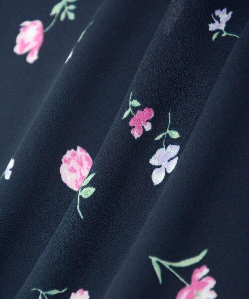 MAJESTIC LEGON / マジェスティックレゴン ミニ・ひざ丈スカート | カラフルフラワースカート | 詳細26