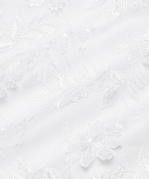 MAJESTIC LEGON / マジェスティックレゴン ミニ・ひざ丈スカート | 3Dレースフレアースカート | 詳細22