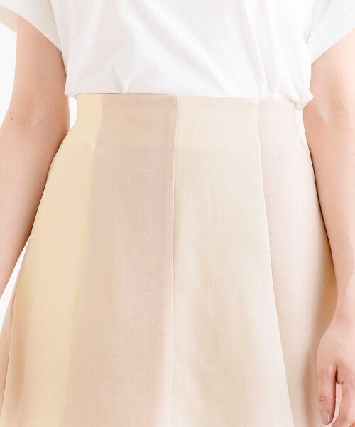 MAJESTIC LEGON / マジェスティックレゴン ミニ・ひざ丈スカート | スカラップバイカラースカート | 詳細4