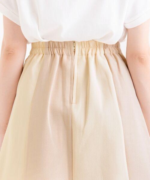 MAJESTIC LEGON / マジェスティックレゴン ミニ・ひざ丈スカート | スカラップバイカラースカート | 詳細5