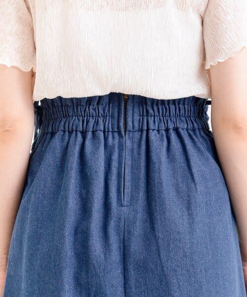 MAJESTIC LEGON / マジェスティックレゴン ミニ・ひざ丈スカート | サイド編み上げAラインスカート | 詳細9