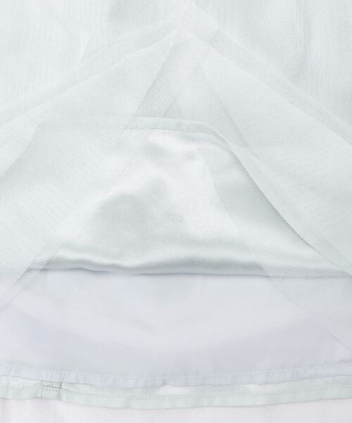 MAJESTIC LEGON / マジェスティックレゴン ミニ・ひざ丈スカート | ラメチュールスカート | 詳細7