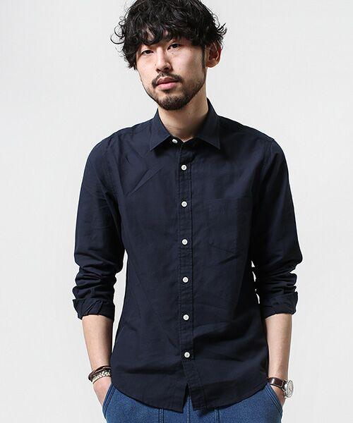 FLANDERS LINENシャツLS【送料無料】