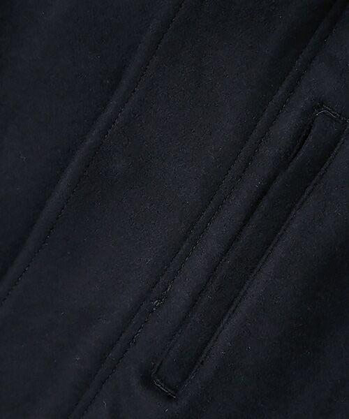 nano universe / ナノ ユニバース ミリタリージャケット・コート | メルトンショートモッズコート | 詳細1