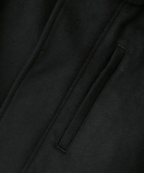 nano universe / ナノ ユニバース ミリタリージャケット・コート | メルトンショートモッズコート | 詳細12