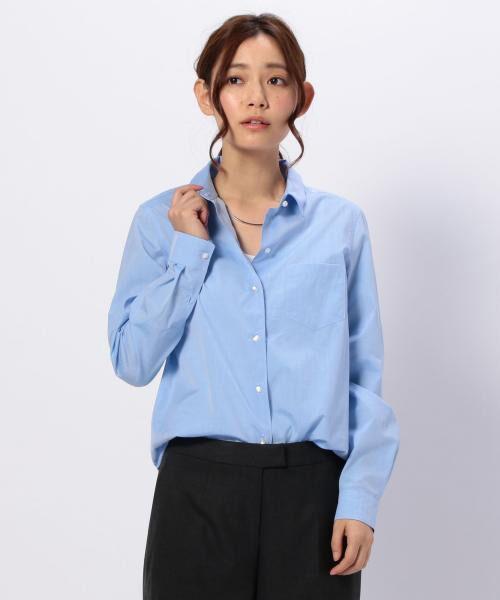 ワイヤー入りコットンシャツ【送料無料】