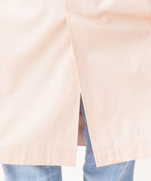 23区 / ニジュウサンク トレンチコート | 【2017春のWEB限定】ギザコットンギャバ ロングトレンチコート | 詳細17
