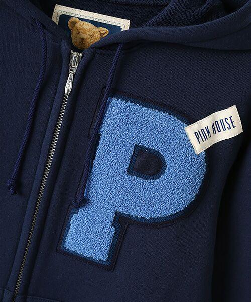 PINK HOUSE / ピンクハウス パーカー | Pサガラワッペン使いカットソーパーカー | 詳細7
