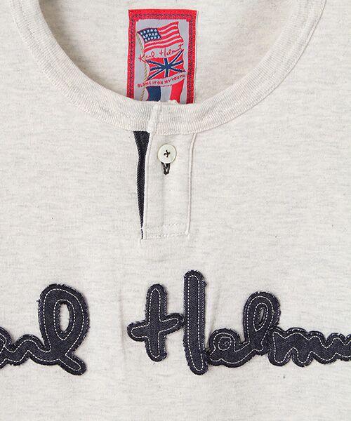 PINK HOUSE / ピンクハウス Tシャツ | ロゴサガラワッペンTシャツ | 詳細1