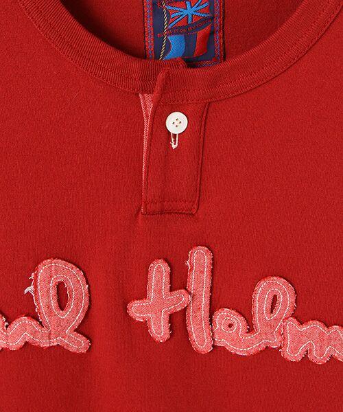 PINK HOUSE / ピンクハウス Tシャツ | ロゴサガラワッペンTシャツ | 詳細5