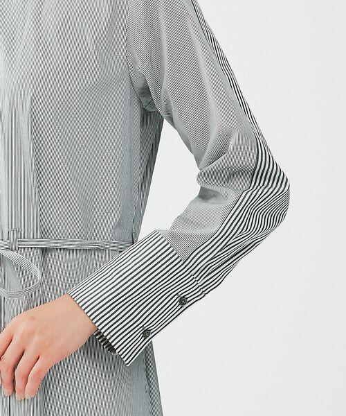 qualite / カリテ シャツ・ブラウス | コンビロングシャツ | 詳細7