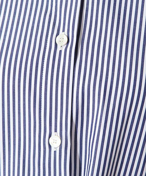 ROPE' / ロペ シャツ・ブラウス | カフス刺繍入りストライプシャツ | 詳細5