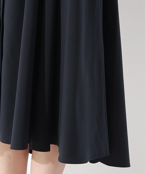 ROPE' / ロペ ミニ丈・ひざ丈ワンピース | ストレッチタイプライターシャツワンピース | 詳細5