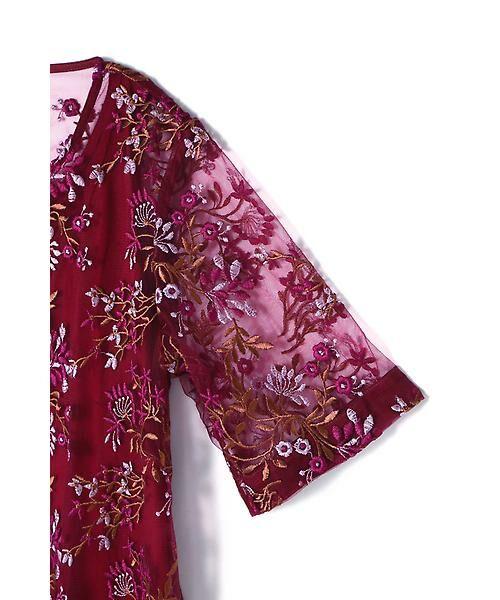 ROSE BUD / ローズ バッド ワンピース | フラワー刺繍ワンピース | 詳細8