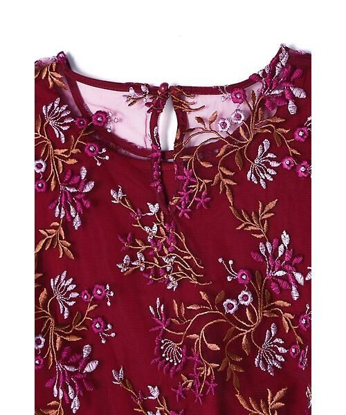 ROSE BUD / ローズ バッド ワンピース | フラワー刺繍ワンピース | 詳細10