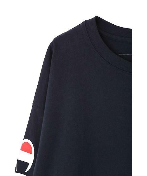 ROSE BUD / ローズ バッド カットソー   Champion別注 ロゴプリントトップス   詳細4