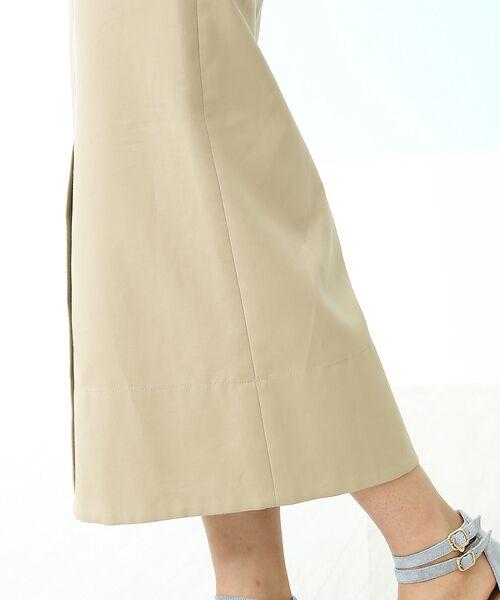 Rouge vif la cle / ルージュ・ヴィフ ラクレ ミニ・ひざ丈スカート | セミタイトスリットスカート | 詳細6