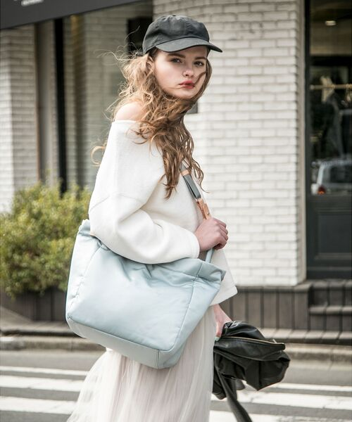 russet / ラシット トートバッグ | THREE STYLE TOTE(THE CLOUDS) | 詳細18