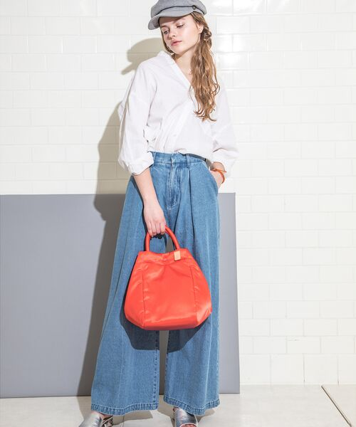 russet / ラシット トートバッグ | THREE STYLE TOTE(THE CLOUDS)(レッド)