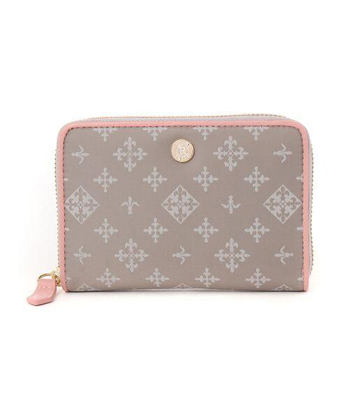 russet / ラシット 財布・コインケース・マネークリップ | ファスナー式折り財布(soeru)(グレー)