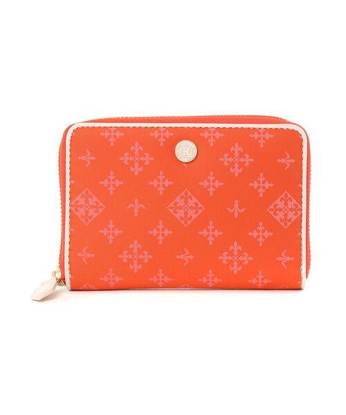 russet / ラシット 財布・コインケース・マネークリップ | ファスナー式折り財布(soeru)(オレンジ)