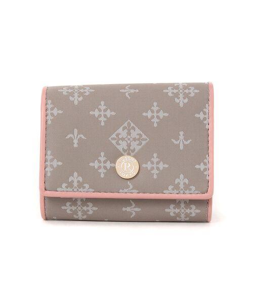 russet / ラシット 財布・コインケース・マネークリップ | 三つ折り財布(soeru)(グレー)