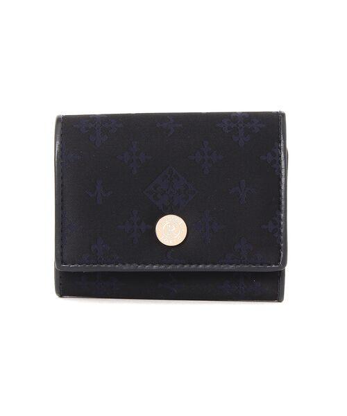 russet / ラシット 財布・コインケース・マネークリップ | 三つ折り財布(soeru)(ネイビー)