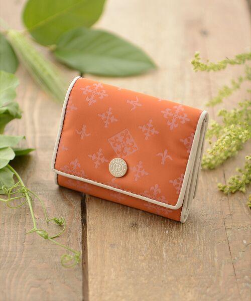 russet / ラシット 財布・コインケース・マネークリップ | 三つ折り財布(soeru)(オレンジ)