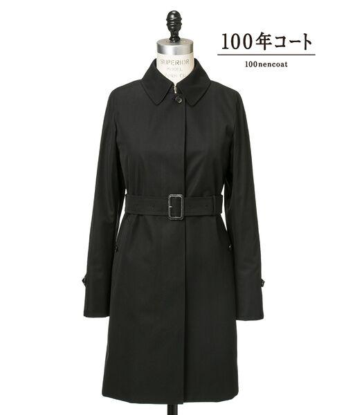 SANYO / サンヨー トレンチコート | <100年コート>バルマカーンコート(ブラック1)