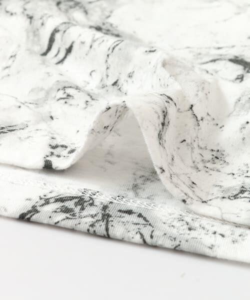 SENSE OF PLACE by URBAN RESEARCH / センスオブプレイス バイ アーバンリサーチ Tシャツ | マーブルビッグTシャツ(5分袖) | 詳細10